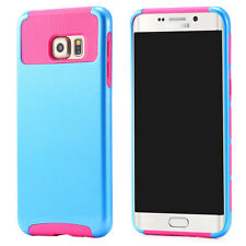 High quality tpu pc dual layer protective case for samsung galaxy s6 edge plus