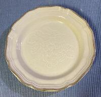 """Mikasa 8"""" Salad Plate Vanilla Ice Pattern  Wonderful Condition!"""