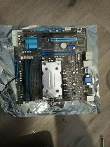 Asus motherboard F1A75-M cpu BUNDLE AMD A8-3800 fan and cooler
