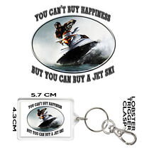 JET SKI KEYRING You Can't Buy Happiness But You Can Buy A Jet Ski.  Jet Ski Gift