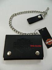 Harley-Davidson Geldbörse LederPortemonnaie Geldbeutel Wallet Kette B&S XML3514