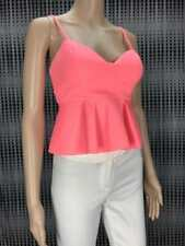 ** BARDOT ** BNWT $79.95 * Sz 8 Pink Soda Peplum Bralette Party Top - (B163)