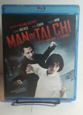 Man of Tai Chi(Blu-ray Disc,2013)Used Once-Keanu Reeves - Free Shipping