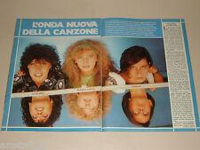 ROSSANA CASALE DIANA EST LU COLOMBO clipping articolo fotografia 1983 AT14
