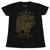 WORK Muay Thai Tattoo Sak Yant ink tiger talisman amulet #WK110 T-Shirt M L XL
