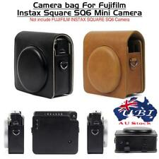 Durable Leather Camera Bag Case Cover Pouch For Fujifilm INSTAX SQUARE SQ 6 AU!