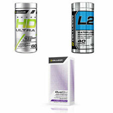 3 PACK - Cellucor WEIGHT LOSS MEGA STACK: Super HD Ultra + L2 + DualBio BURN FAT