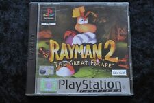 Rayman 2 the great escape Playstation 1 PS1 Platinum