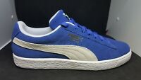 Puma Suede Classic+ Men's Shoes Casual Sneakers 352634 64- Blue White -