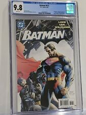 Batman #612 CGC 9.8 Batman Vs Superman Classic Jim Lee