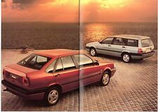 Fiat Tempra Saloon & Station Wagon 1991-92 UK Market Sales Brochure S SX
