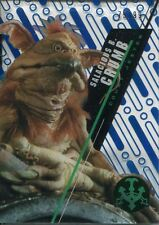 Star Wars 2016 High Tek Blue Parallel [99] Base Card SW-8 Salacious B. Crumb
