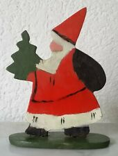 Wood Figure Stands Santa Claus Santa Claus Christmas Decoration