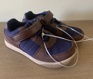 SUPRIZE BY STRIDE RITE ST  WASHABLE Toddler Boys Brown/navy Sneakers Size 12