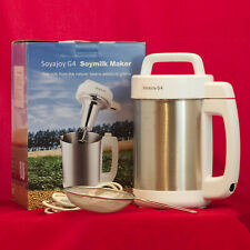 SoyaJoy G4 Soy Milk Maker & Soup Maker - Stainless Steel - Excellent Condition