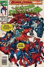 AMAZING SPIDER-MAN#379 - MAXIMUM CARNAGE PART 7 NEWSSTAND VARIANT JULY 1993 NM
