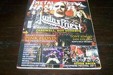 METAL HAMMER MAGAZINE 7/2011 JUDAS PRIEST TONY IOMMI IAN GILLAN PINK FLOYD OTEP