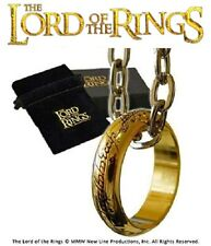Lord of the Rings The One Ring with Chain Costume Jewellery Box Nobel Collection