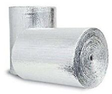 "500SQFT Double Bubble 1/4inch Thick Radiant Barrier Insulation Foil 48"" x 125ft"