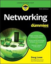 Networking For Dummies by Doug Lowe 9781119648505 | Brand New | Free UK Shipping