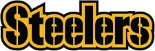 Steelers (Letters) Precision Cut Decal Logo Vinyl Football