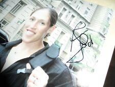 REBECCA LOBO SIGNED/AUTOGRAPHED 8X10 PHOTO NEW YORK LIBERTY WNBA