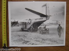 Photo AVION PLANE Troop carrier C 122 - 19 X 24,5 cm