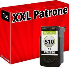 XXL inchiostro CARTUCCE PER CANON pg-510 Pixma mx420 mx340 mx350 mx410 mx360 REFILL