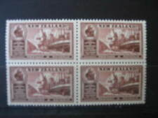 NEW ZEALAND 1936 CHAMBERS OF COMMERCE 6d  BLOCK OF 4 NHM SG597