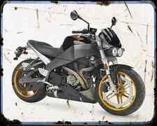Buell Xb12S Lightning 06 1 A4 Metal Sign Motorbike Vintage Aged