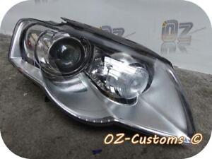 2006> VOLKSWAGEN PASSAT B6 R36 R LINE O/S DRIVER XENON LED HEADLIGHT ADAPTIVE