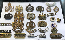 Cap Badge Collection