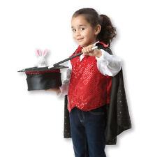 Melissa and Doug Magician Role Play Set | Kids Fancy Dress Costume