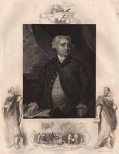 BRITISH HISTORY. Charles James Fox. The Gordon Riots-Burning of Newgate 1853