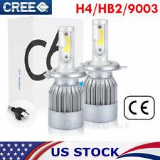 CREE H4 9003 HB2 LED Headlight Kit Light Bulbs Hi/Lo Beam 1800W 277500LM 6000K