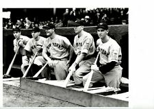6 SPORTING NEWS COLLECTION PHOTOS HOF COBB, GEHRIG, DIMAGGIO, HORNSBY, SIMMONS +