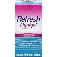 Refresh Liquigel Lubricant Soothing Eye Gel Long Lasting Relief 0.5 oz