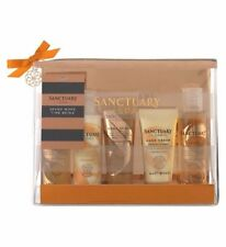 Sanctuary Spa Spend More Time Being Body Wash Scrub Lotion Float Cream Gift Set