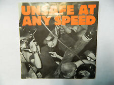 "Unsafe At Any Speed - MM 014   - 7"" Single Vinyl Punk"