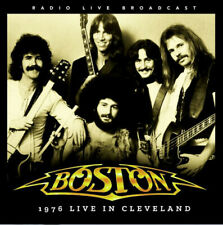 BOSTON - 1976 LIVE IN CLEVELAND (RADIO BROADCAST) - LP - SEALED
