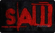 Saw Logo Embroidered Patch Horror Movie Jigsaw Kramer Billy The Puppet Series 2