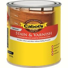 Cabot's 250ml Gloss Walnut Stain and Varnish