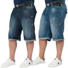 Unifarbene Herren-Shorts & -Bermudas im Denim Hosengröße 40-Stil