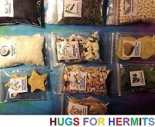 Hermit Crab Food TRUE ORGANIC, QUALITY INGREDIENTS Fruit Protein 10 FULL 2x3