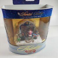 1998 Holiday Hot Wheels Santa's Stocker series IV Santa Diecast  Kringles Kart