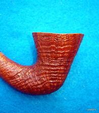 elegant CASTELLO C33 KKKK Old Antiquari Calabash 3D-Ring-Grain bent BRIAR PIPE