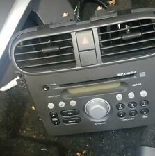 2009 VAUXHALL AGILA B PACR08 Stereo RADIO CD MP3 Head Unit 3910151K00EZR