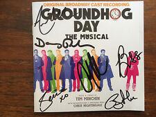 Groundhog Day cd signed  Broadway Andy Karl + major cast 2017 musical Rubin book