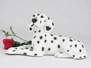 Dalmatian Pet Dog Figurine Urn