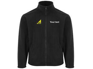 Embroidered micro fleece coat jacket Plumber gas safe Logo/ company name